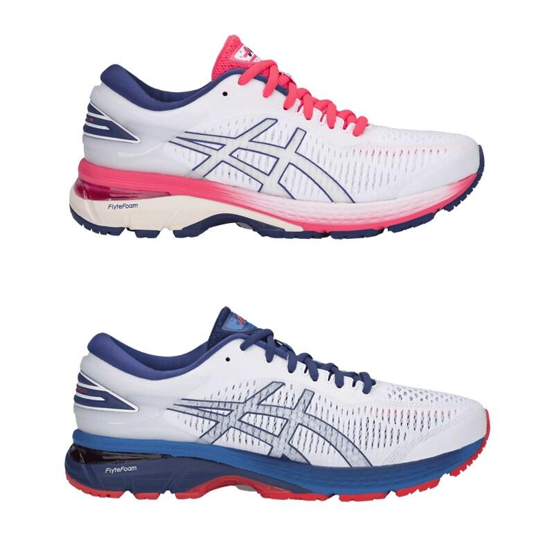 Stabil och stöttande sko med högt drop på 10–13 mm. Utmärkt allträningssko  som känns bekväm även under de längsta löprundorna. Kayano är en kär  klassiker ... b2737cf42d460