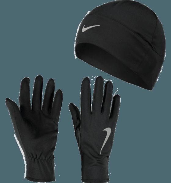 W Run Dry Hat And Glove Set