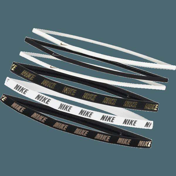 Metallic Mixed Width Headbands 6 Pack