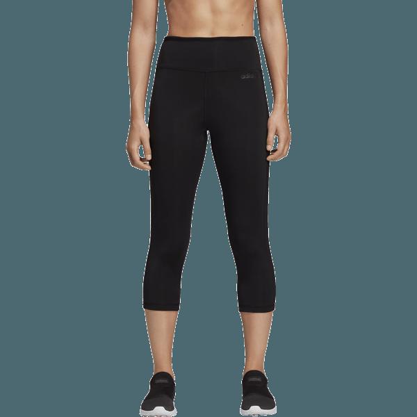 Adidas W D2m Hr 34 3s Träningskläder BLACK W D2m Hr 34 3s