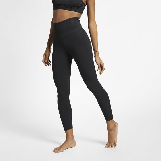 Nike W Sculp Lux 7/8 Tgh Träningskläder BLACK/CLEAR W Sculp Lux 7/8 Tgh