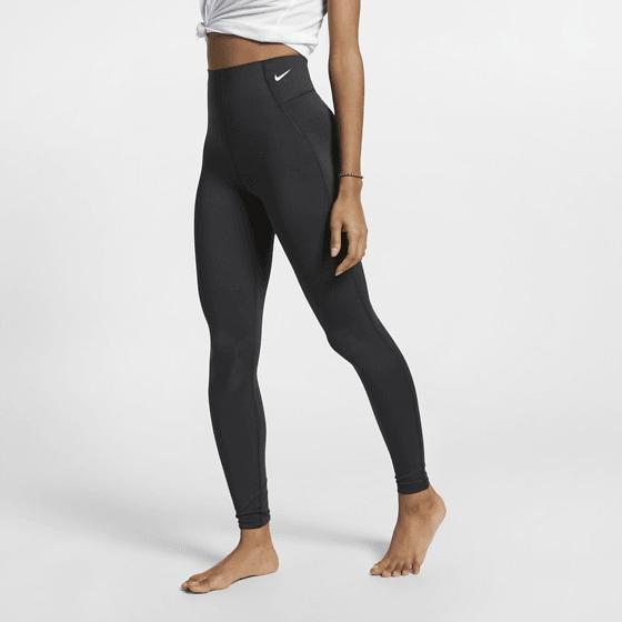 Nike W Nk Sculpt Vctry Tght Träningskläder BLACK/WHITE W Nk Sculpt Vctry Tght