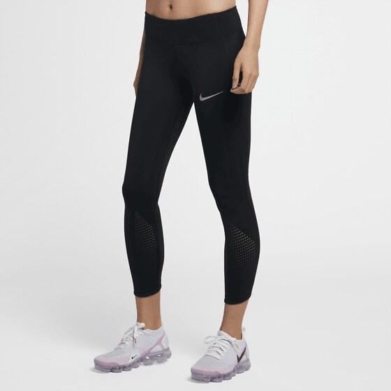 Nike W Nk Epic Lx Tght Löparkläder BLACK/REFLECTIVE S W Nk Epic Lx Tght