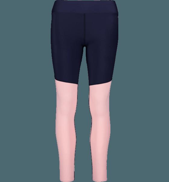 Skins W Long Tights Träningskläder NAVY BLUE/CAMEO PI W Long Tights
