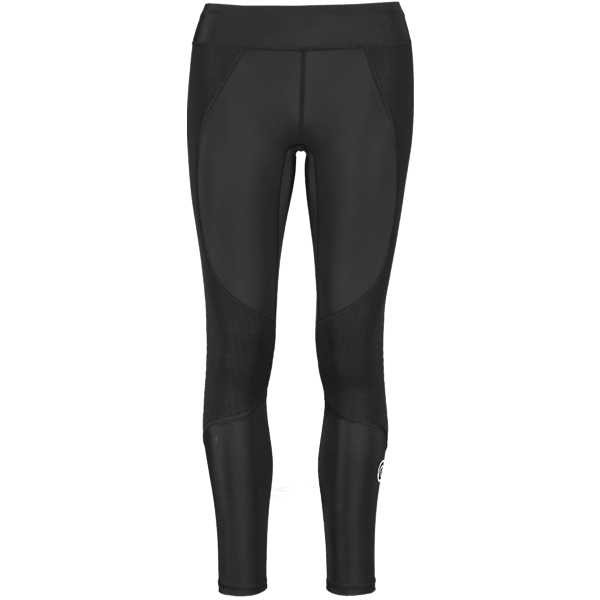 Rehband Run Knee Tights W Träningskläder BLACK Run Knee Tights W