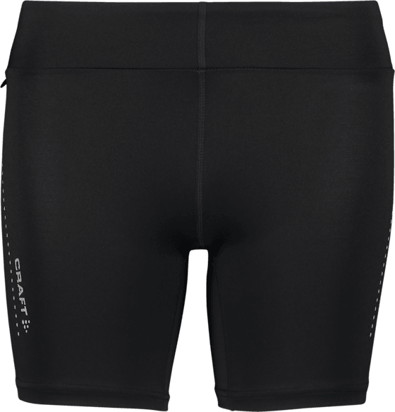 Craft W Essential Short Tights Löparkläder BLACK W Essential Short Tights