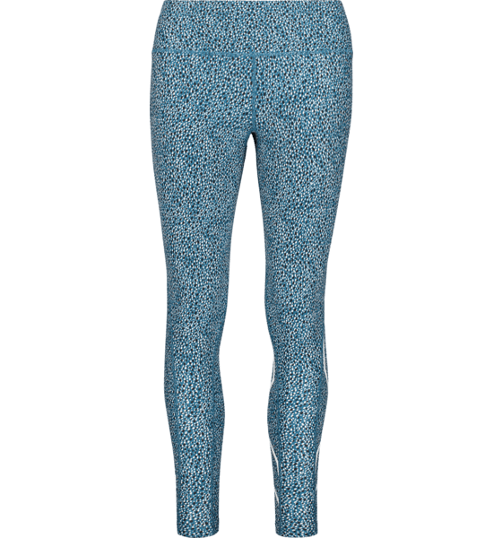 W Print Mid-rise Compression Tights