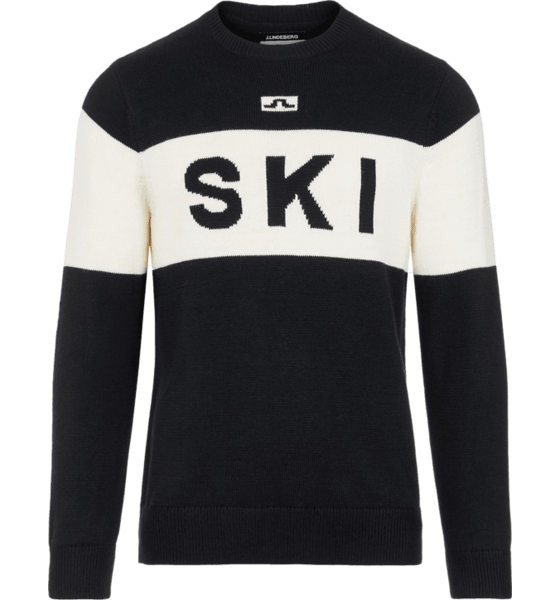 M KEN KNITTED SKI SWEATER