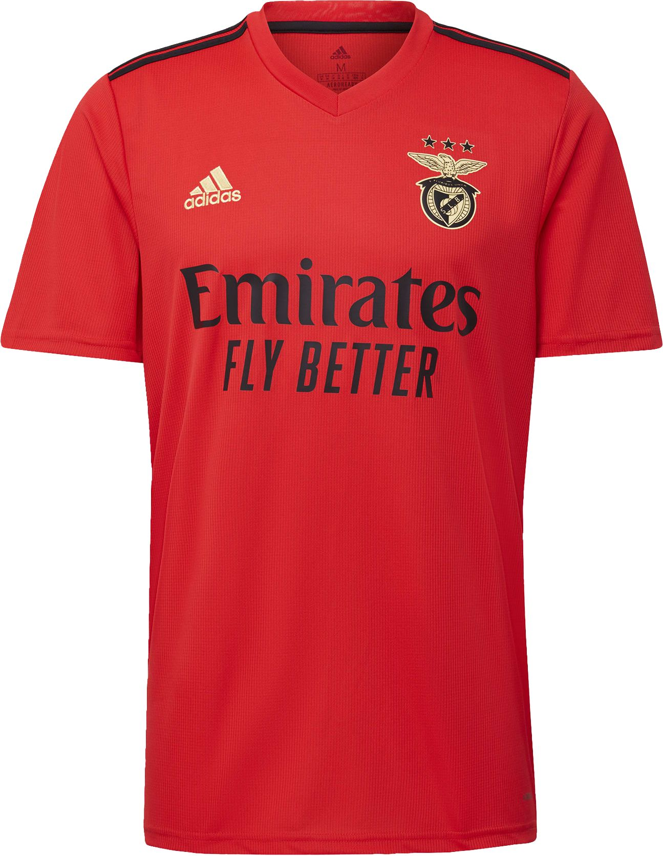 355696101104, Benfica Home Jersey, ADIDAS, Detail