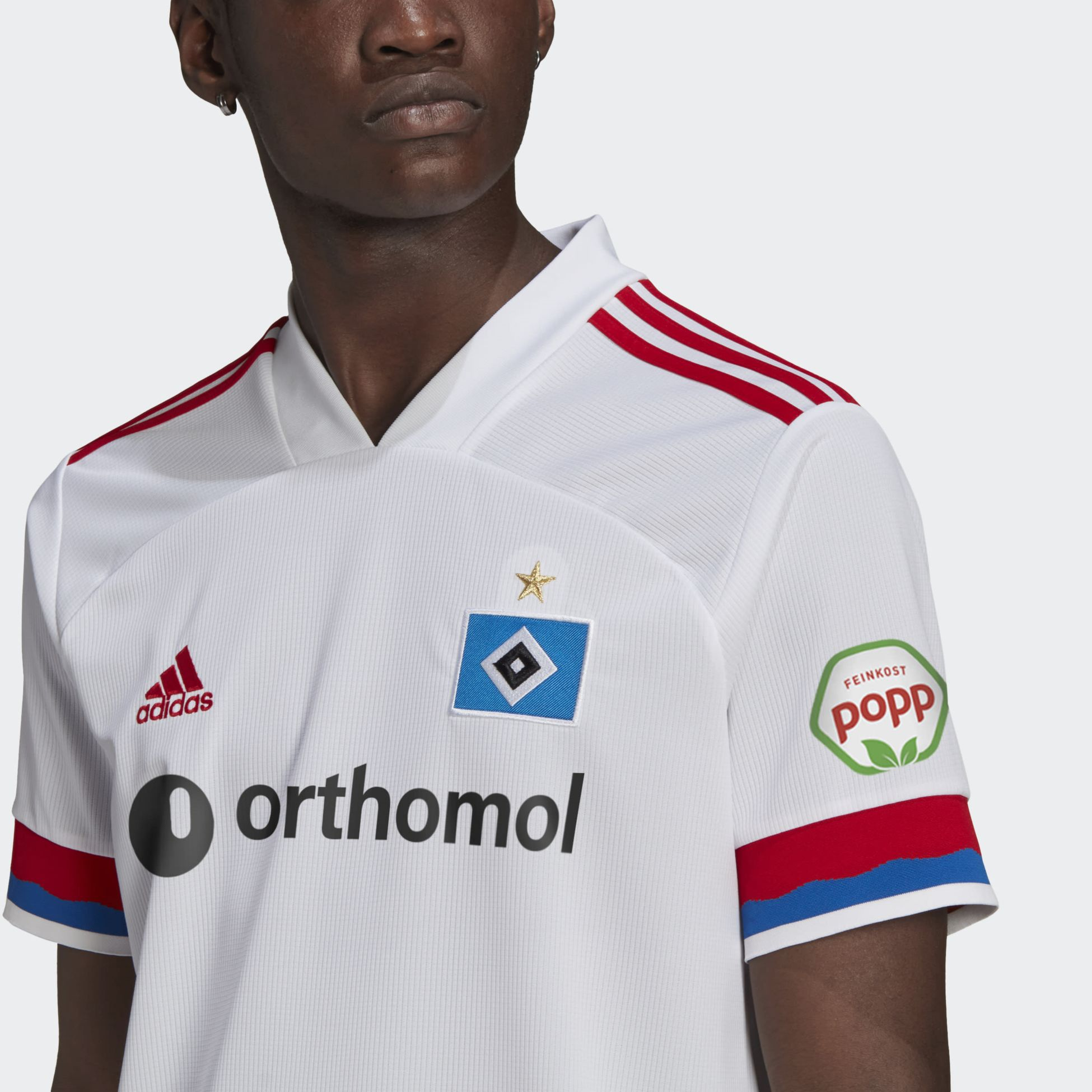355699101106, Hamburger SV 20/21 Home Jersey, ADIDAS, Detail
