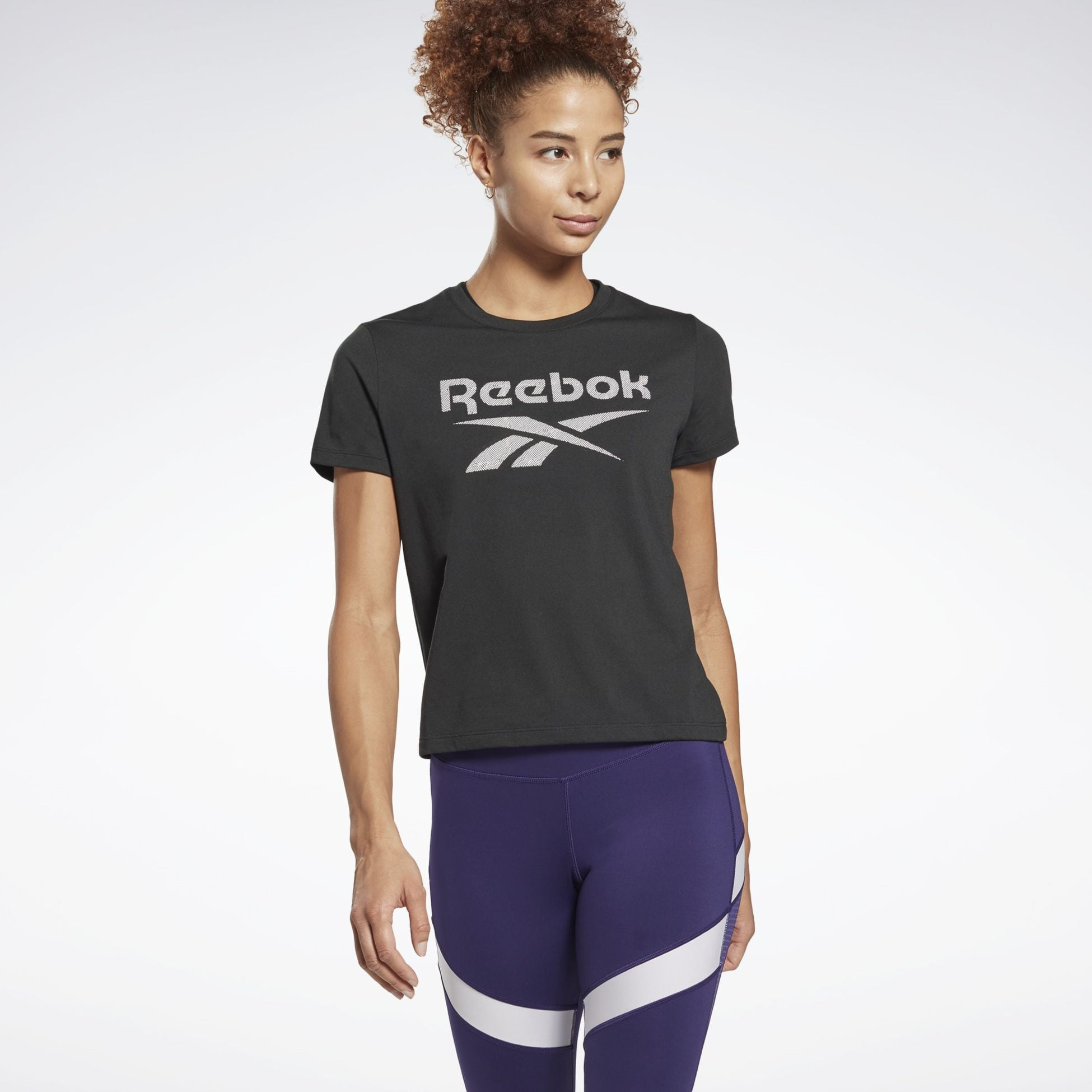 356167101104, Workout Ready Supremium Big Logo T-Shirt, REEBOK, Detail